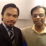 Manny Pacquiao & Dr. Prabhu Dayal